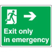 Safe Safety Sign - Exit Emergency 078